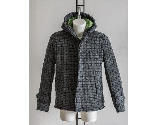 Boiled wool jacket example