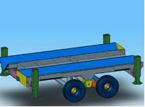 Design of agriculture machine