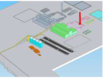 3D Layout for thermal power station