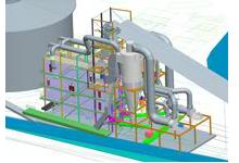 3D design of sugar plant