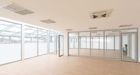 glazed partitioning