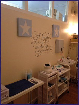 For an exquisite beauty salon in Polmont  Call 01324 711105