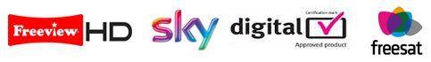 freesat sky logos