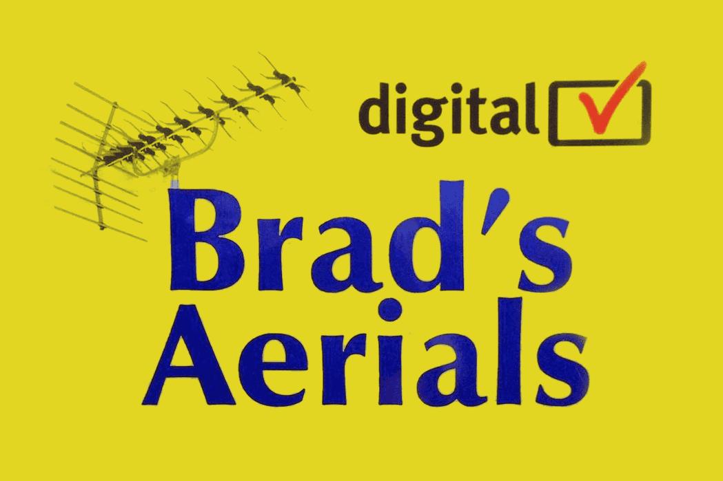 Brad's Aerials logo