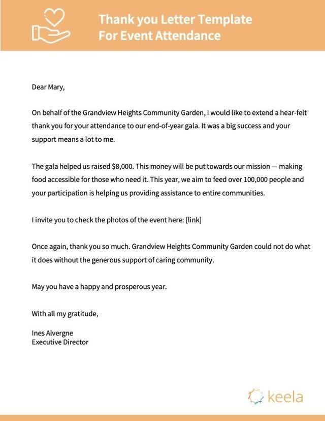 Nonprofit Thank You Letter Templates