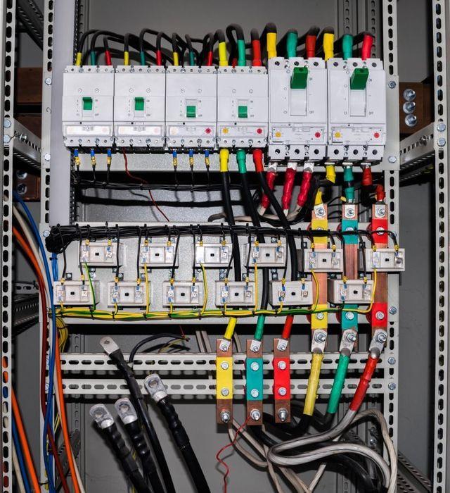 Un quadro elettrico completo