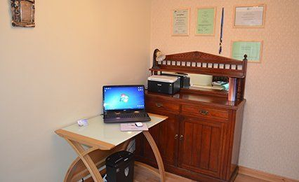 practitioner's office