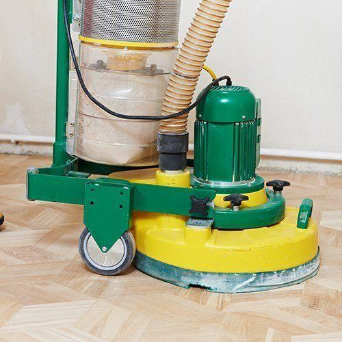 a floor sander
