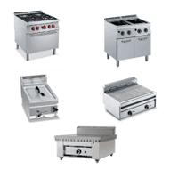 elettrodomestici, attrezzature per la cottura, cucina completa
