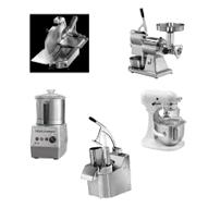 attrezzature preparazione verdure, attrezzature preparazione affettati, attrezzature preparazione macinati di carne