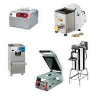 attrezzature per la pasta, attrezzature per il confezionamento, attrezzature pelatura patate