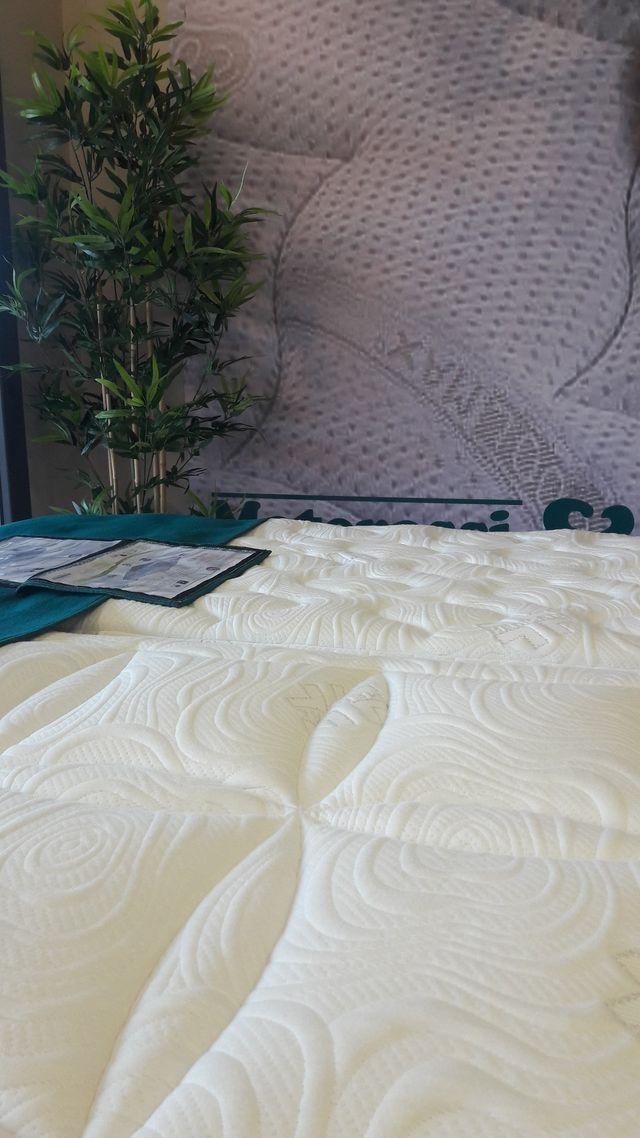 primo piano di una materasso