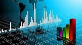 grafici digitali, indici di crescita, grafici delle vendite