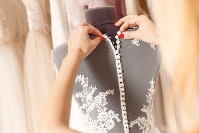 Brautmode Speyer Spitze Wunderschönes Brautkleid