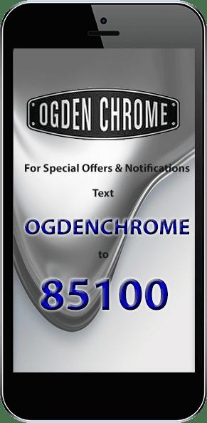 Chrome Plating - Ogden, UT - Ogden Chrome