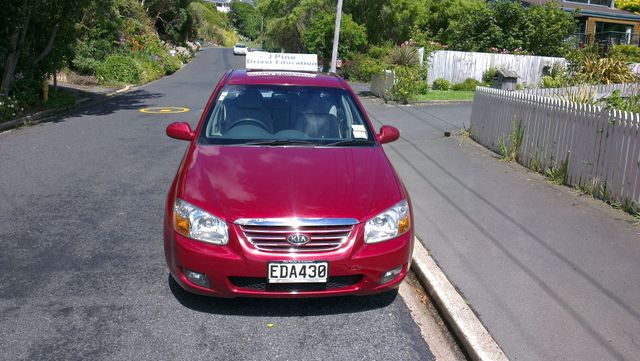 Cars used by our driving school in Dunedin