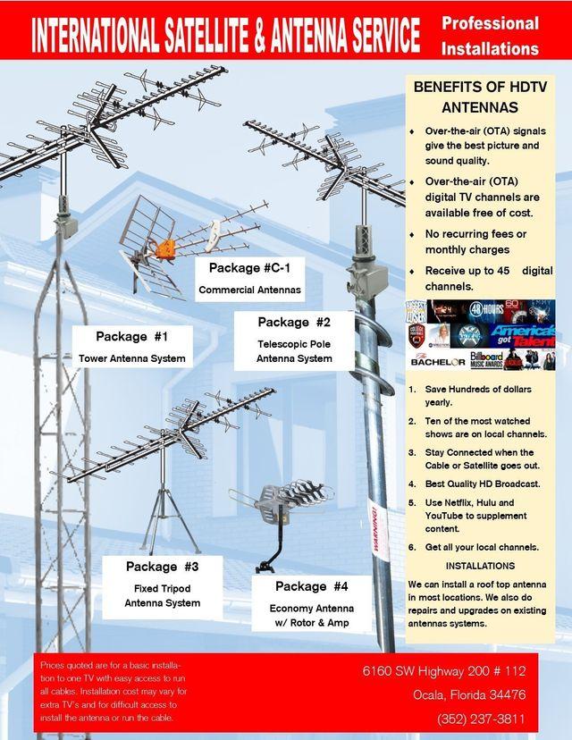 Satellite TV | Satellite Internet | HDTV Antennas| Ocala
