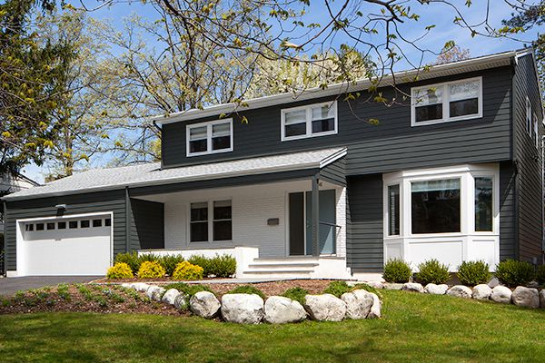 West Orange New Exterior Design and Kitchen Remodel