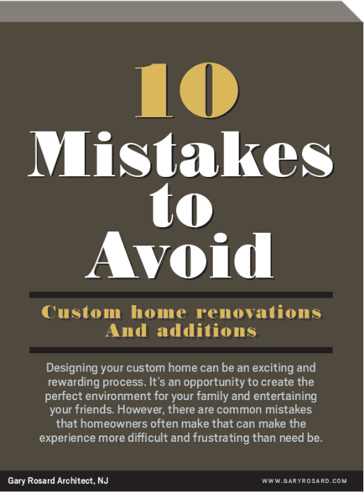 10 Mistakes to Avoid: Custom home renovations and additions  Based on our years or experience, we wanted to share some of the most common mistakes that homeowners often make prior to and during a custom home renovation.  Learning how to avoid some of these could save you time and money on your renovation project.