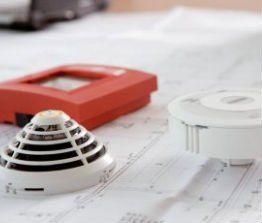 una sistema di allarme antincendio