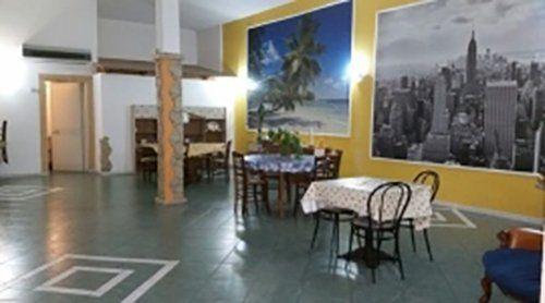 sala ristoro della casa di cura