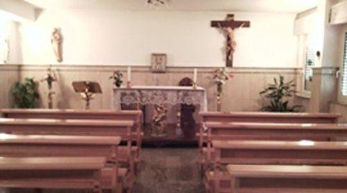 interno  di una chiesa  della casa di cura
