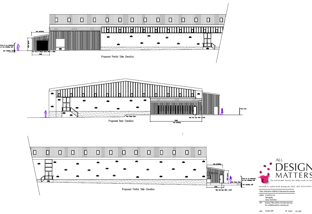 Commercial architects basingstoke hampshire for Draw layout warehouse