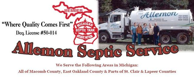 Septic Inspection by Valerie | Allemon Septic Service