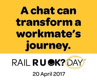 Rail R U OK?Day