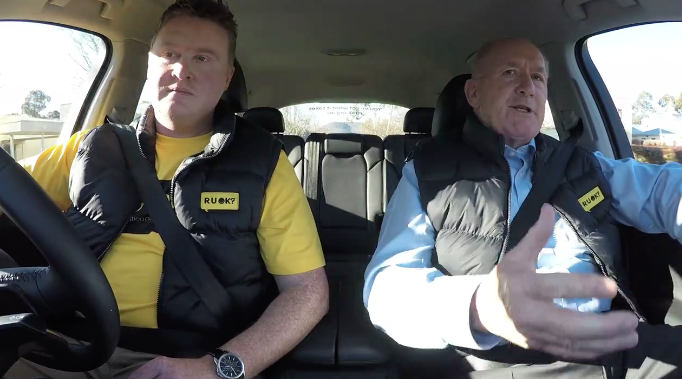 R U OK? Carpool Conversations: The Governor-General