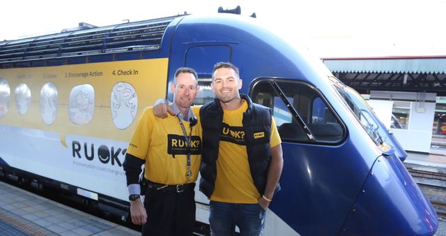 "R U OK? Are you really?"" Australian and NZ rail celebrate Rail R U"