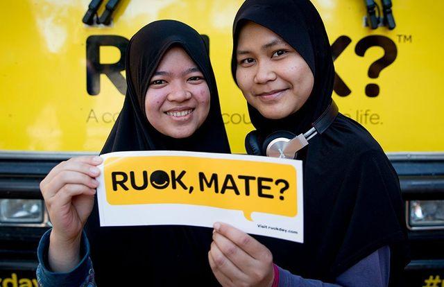 R U OK? Supporters