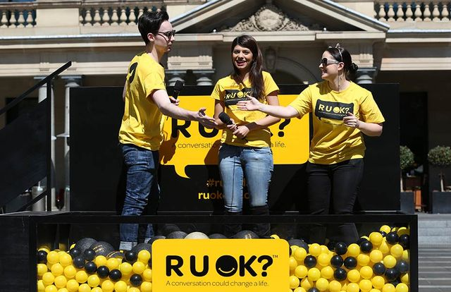Student speaker for RUOK? Day at University