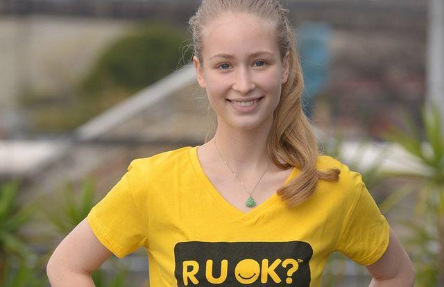 Natalia Siam RUOK Ambassador