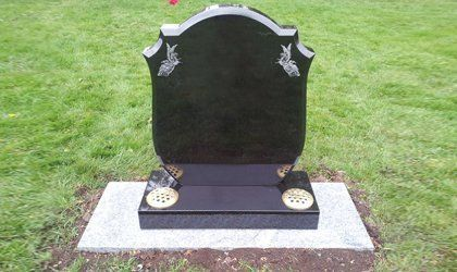 attractive gravestone