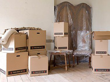 Durable cardboard boxes