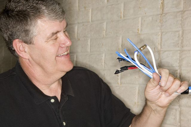 A happy electrician