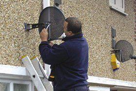 Professional aerial repair