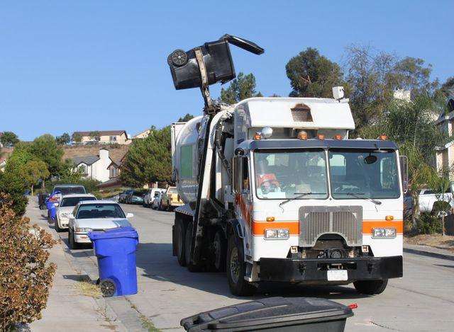 Residential trash pickup