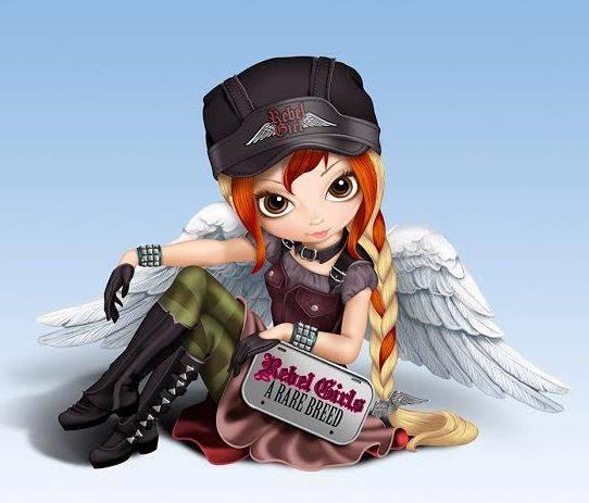 Rebel Girl Figurine