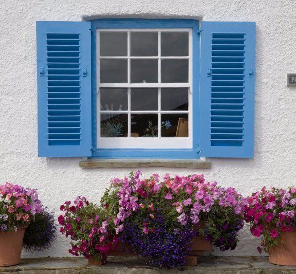 Handcrafted casement windows