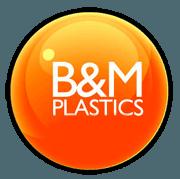 B & M Plastics logo