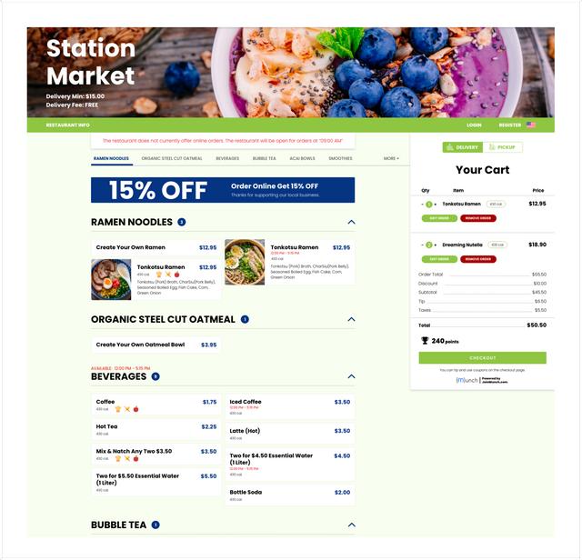 Munch - Online Food Ordering Software
