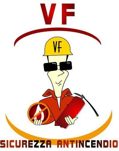 VF SICUREZZA ANTINCENDIO logo