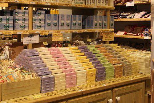 negozio Eder con prodotti naturali