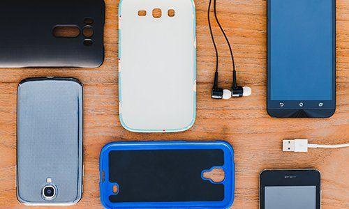 degli smartphone e delle cover