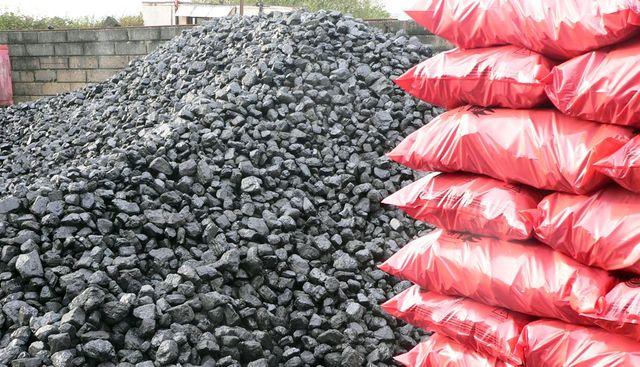 chunks of coal and coal scaks