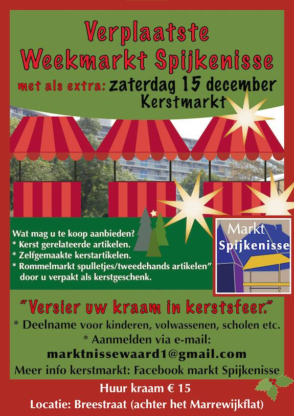Kerstmarkt 15 December 2018 In Spijkenisse