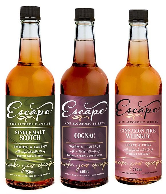 Escape Mocktails: Alcohol Free Spirits and Non-Alcoholic Mocktails