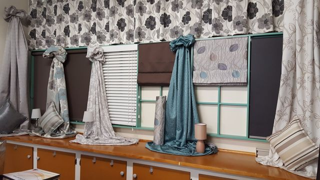 Wide range of curtains available at the store